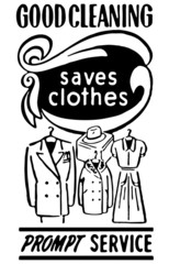 Good Cleaning Saves Clothes