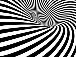 Photo Blinds Spiral Optical Illusion Wormhole