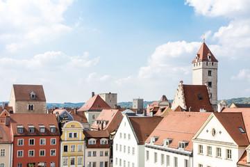 Wall Murals Historic City of Regensburg