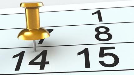 14  calendar