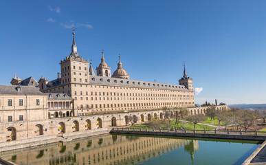 Monasterio de San Lorenzo, El Escorial,Madrid,España