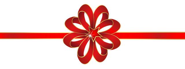 Dekoschleife Schleifendeko Weinachtsdeko Weihnachtsdekoration 3d