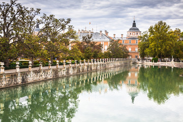 Royal Palace of Aranjuez, a residence of the King of Spain, Aran