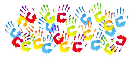 Risultati immagini per mani colorate
