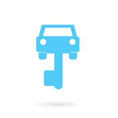 key of car