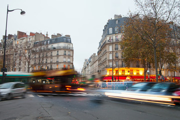 Evening in Paris.