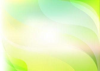 Abstract light yellow green background