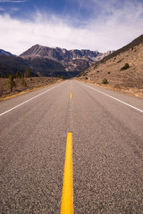 Highway 120 Entrance Tioga Pass Road Yosemite NP California