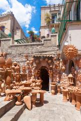 Pottery at Taormina