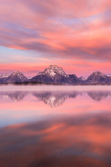 Canvas Prints Natural Park Jackson Lake, Grand Teton National Park