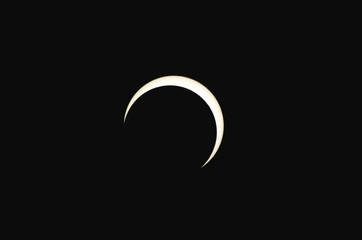 金環日食ステージ8