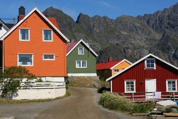 Maisons de couleurs