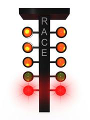 Sport traffic light
