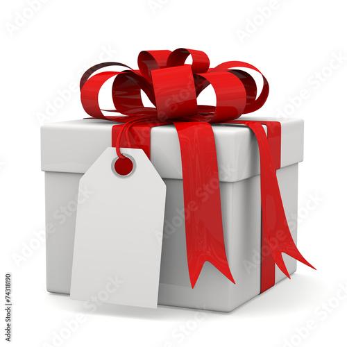 Pacco regalo con biglietto immagini e fotografie royalty for Immagini di pacchetti regalo