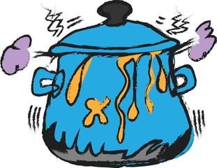 doodle cooking pot