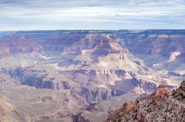 Incredible Grand Canyon Sight in the Very Early Morning