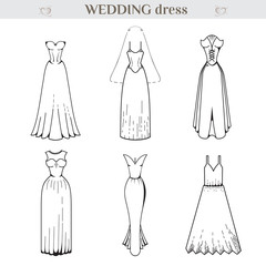 Wedding dress Set.