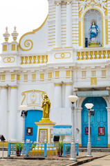 Immaculate Conception Cathedral, Pondicherry, India