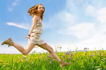 Spring jump