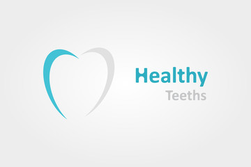 Logo design element. Tooth, dentist, medical