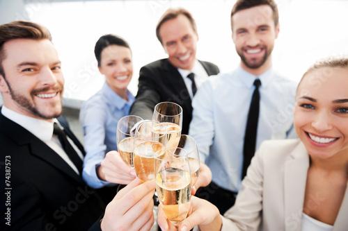 Поздравление для деловых людей