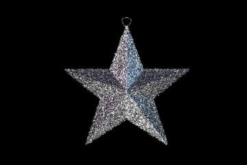 Solver Christmas Ornamental Star