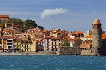 Village of Collioure Mediterranean French coast