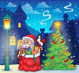 Canvas Prints Fairytale World Santa Claus topic image 3