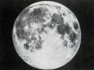 Full moon as seen from Earth's northern hemisphere