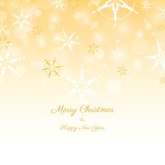 Gold Christmas Illustration