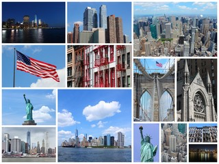 New York City - photo collage