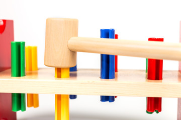 colorful tools for the young carpenter