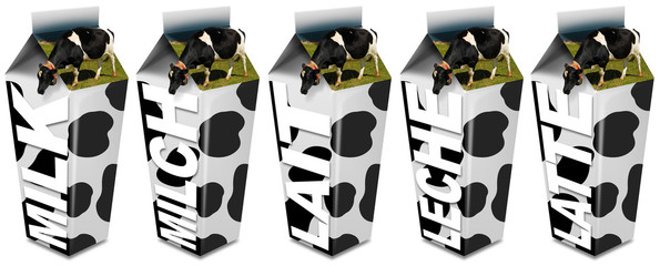 Cow's Milk packaging
