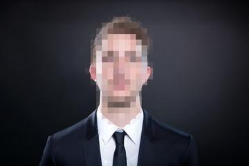 Anonymer Geschäftsmann