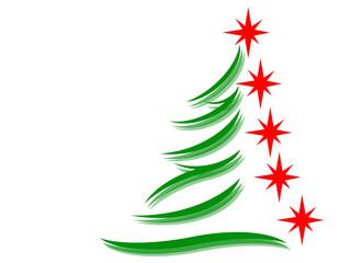 Symbol of a fir tree