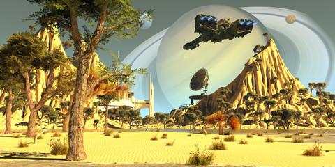 Titan Spaceport
