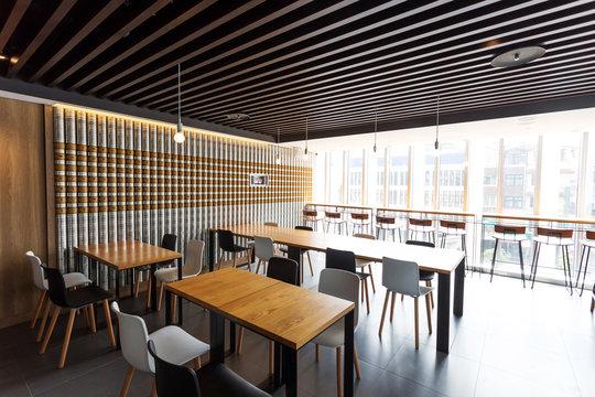 coffee bar interior