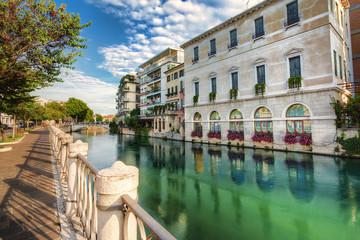 Fototapeta Widok na miasto Treviso,Włochy.