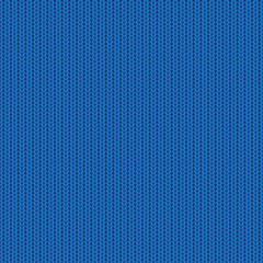 Blue knitted pattern