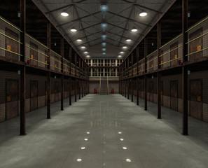 Interior of the old prison