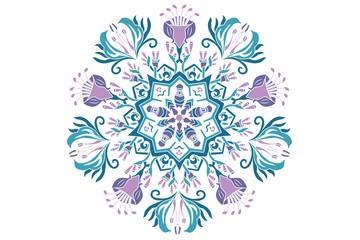 Vector Pattern Mandala Papua