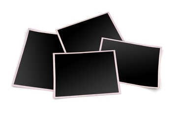 3d blank photo frames