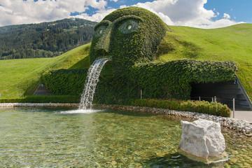 Kristallwelten fountain