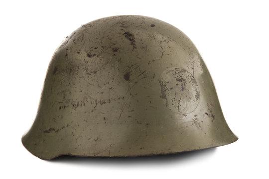 Old Military Helmet