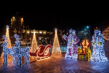 Full Christmas decorations