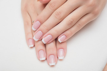 Foto op Canvas Manicure nails