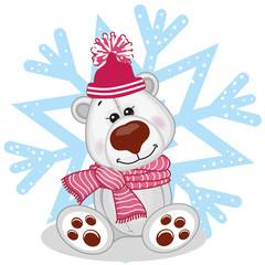 Polar Bear in a hat
