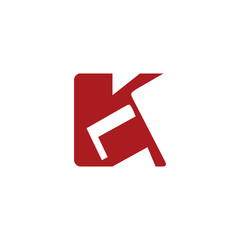 Sign of the letter K