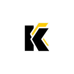 Sign of the letter K and C