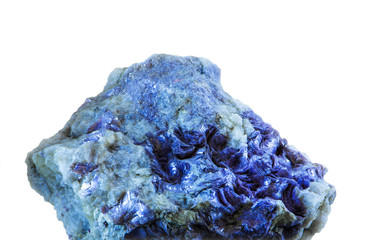 blue mineral